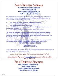 Self_Defense_seminar apr 6 2013